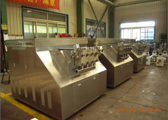 304 stainless steel two stage milk homogenizer Machine 250 L/H 1000 bar